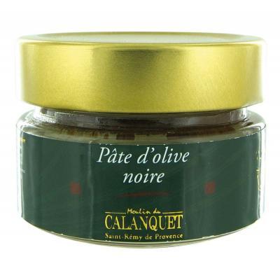 Pâte d'olive noire