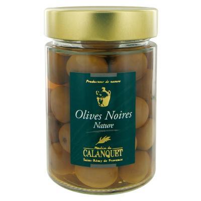 Olives noires natures