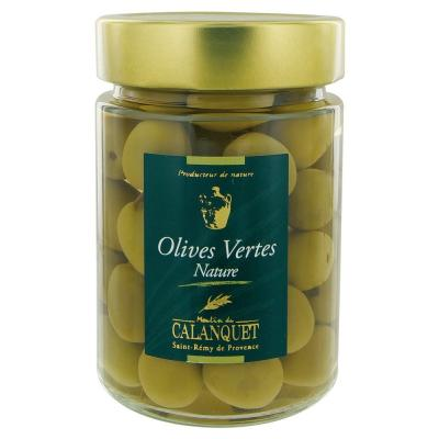 Olives vertes natures