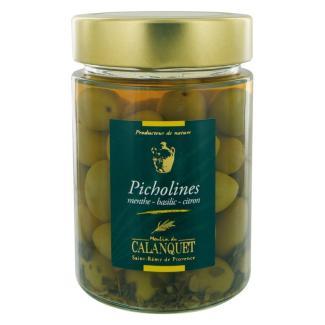 Picholines Menthe-Basilic-Citron