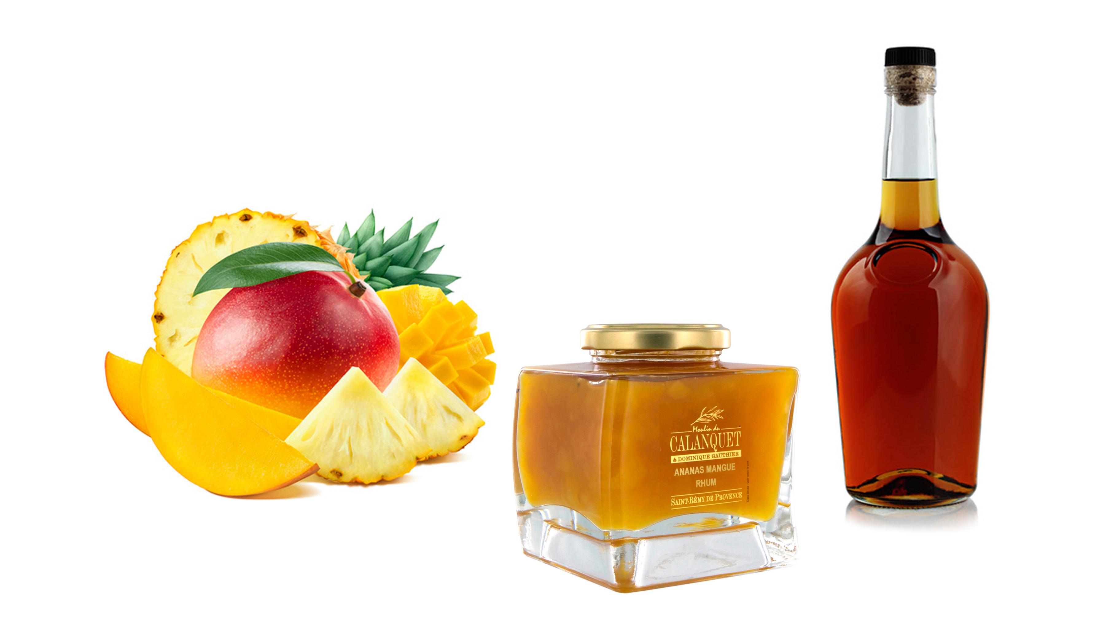 Ananas Mangue Rhum : Un peu d'exotisme en cette période hivernale !!!