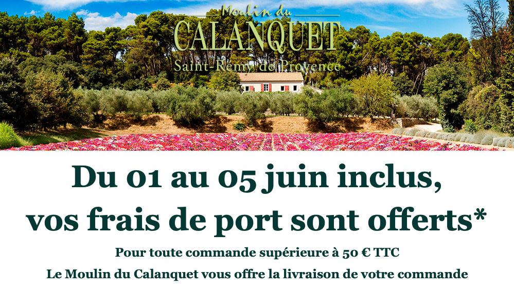 Frais de Port offert du 01 au 05 juin inclus sur la boutique en ligne