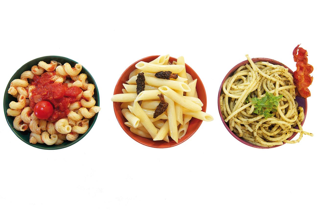 Trilogy pasta