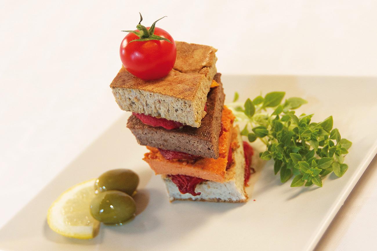 Lou Crespeou: Schinken-Hirt Provencal Omelett
